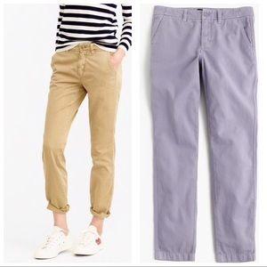 100% Cotton Sunday Slim Chino Skinny Leg Pants